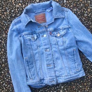 Vintage Levi's light wash stretch jean jacket XS